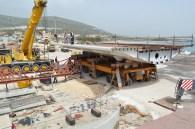 Transport prvog celicnog segmenta za Most Ciovo izgradenog u Brodosplitu (12)