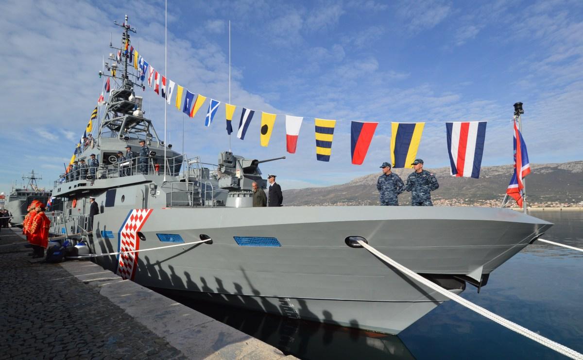 Brodosplitov prototip obalnog ophodnog broda - ponos splitskih škverana i Hrvatske ratne mornarice