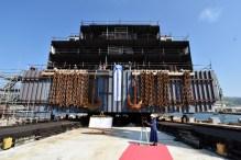 Porinuce mega bloka za Fincantieri - Brodosplit 4.9.2019. - FOTO Skveranka (5)