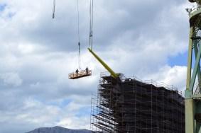 Flying Clipper u izgradnji - Postavljanje kosnika - Brodosplit, 25.5.2017. - FOTO Skveranka