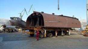 Izgradnja jedanaestog broda – Brodosplit 23.1.2017. - FOTO Škveranka