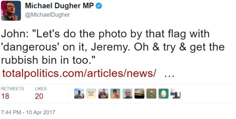 dugher fake news photo