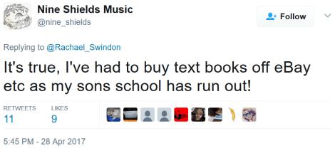 nine shields school cuts