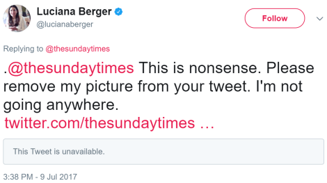 berger times