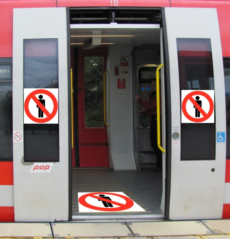 no men train
