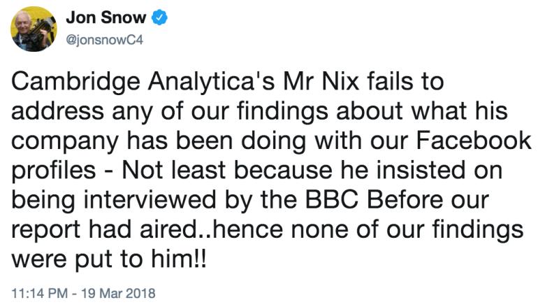 snow ca bbc