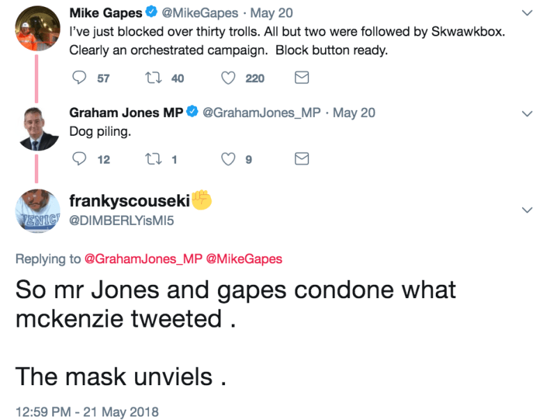 gapes jones mck