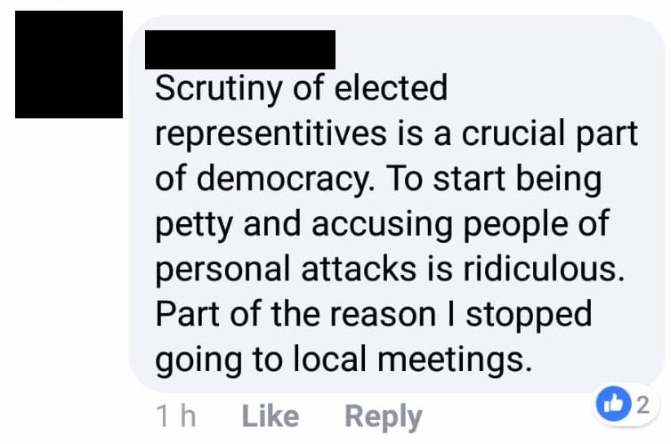 gj scrutiny