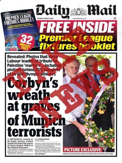 Image result for daily mail corbyn