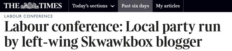 skwawk times