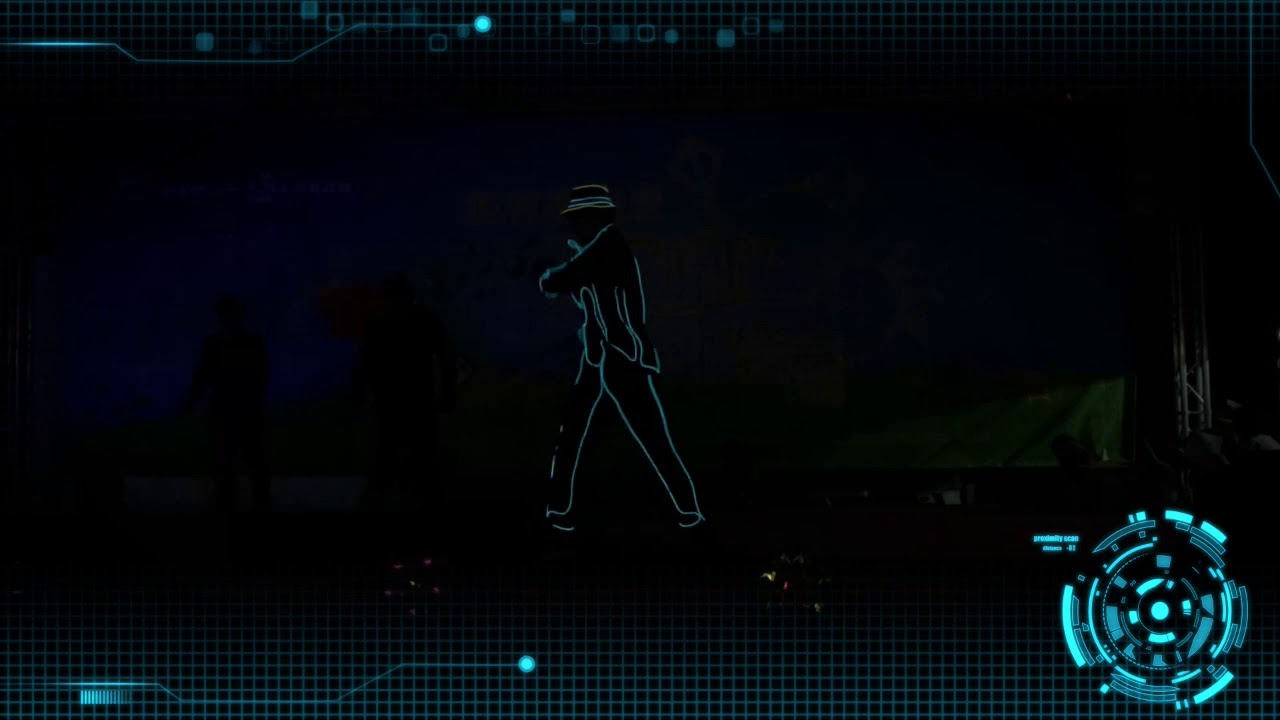 冷光舞 科技表演 |嘉義中埔草原趴同樂會|獨角仙農場
