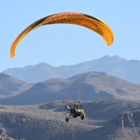 A brief history of paratrike. Fly in Maspalomas, Gran Canaria