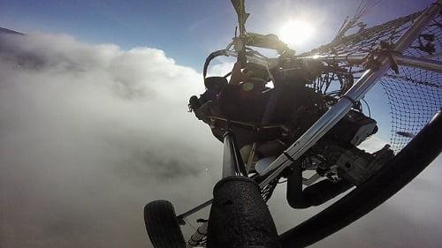 paragliding in Maspalomas Gran Canaria with Sky Rebels