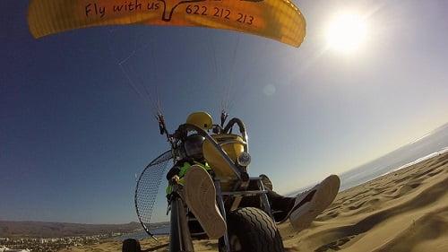 paratrike powered paragliding Gran Canaria