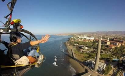 Paratrike_Paramotor_Paraglider_Gran_Canaria_Maspalomas_Sky_Rebels_lightouse