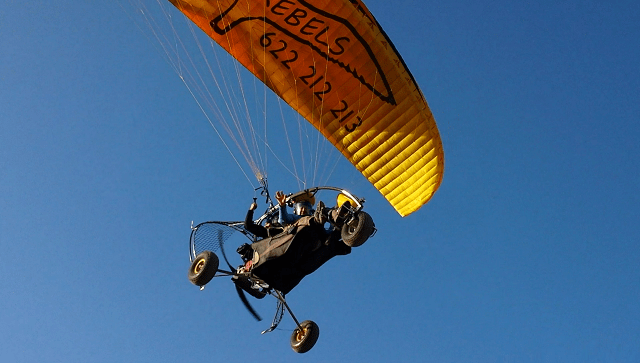 paratrike powered paragliding Maspalomas