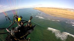 Paragliding in Maspalomas Dunes Gran Canaria