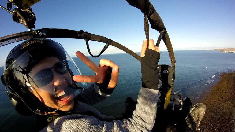 Paragliding Maspalomas LIghthouse Sky Rebels