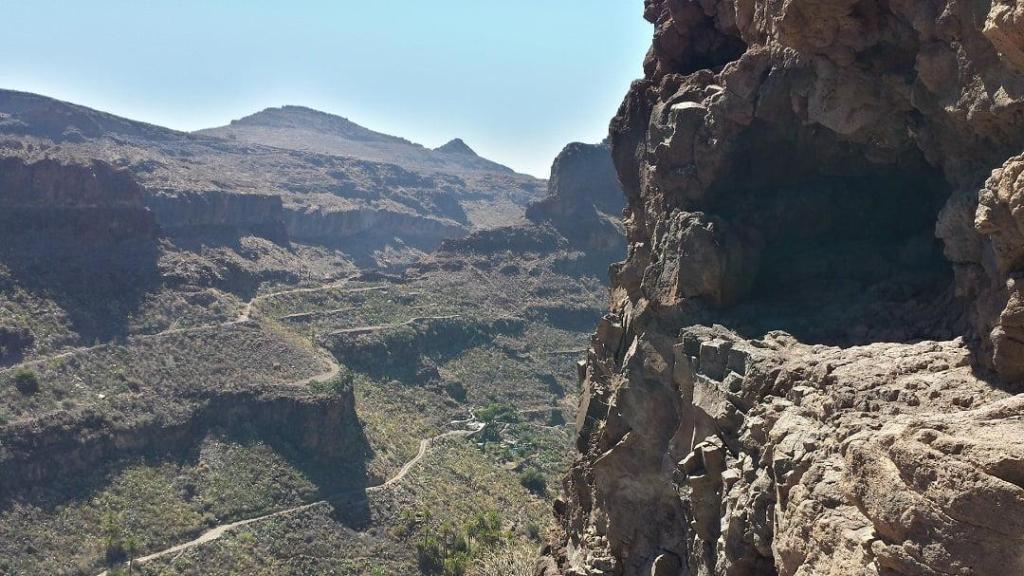 La fortaleza Gran Canaria