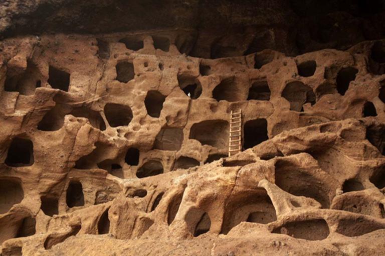 archäologischen Stätten Cenobio de Valeron Yacimientos arqueológicos Gran Canaria