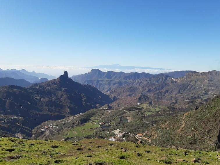 archäologischen Stätten Bentayga yacimientos arqueológicos Gran Canaria