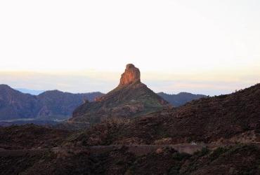 Roque Bentayga Gran Canaria sunset