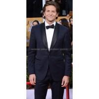 Bradley Cooper Navy Blue Shawl Collar Tuxedo Suit