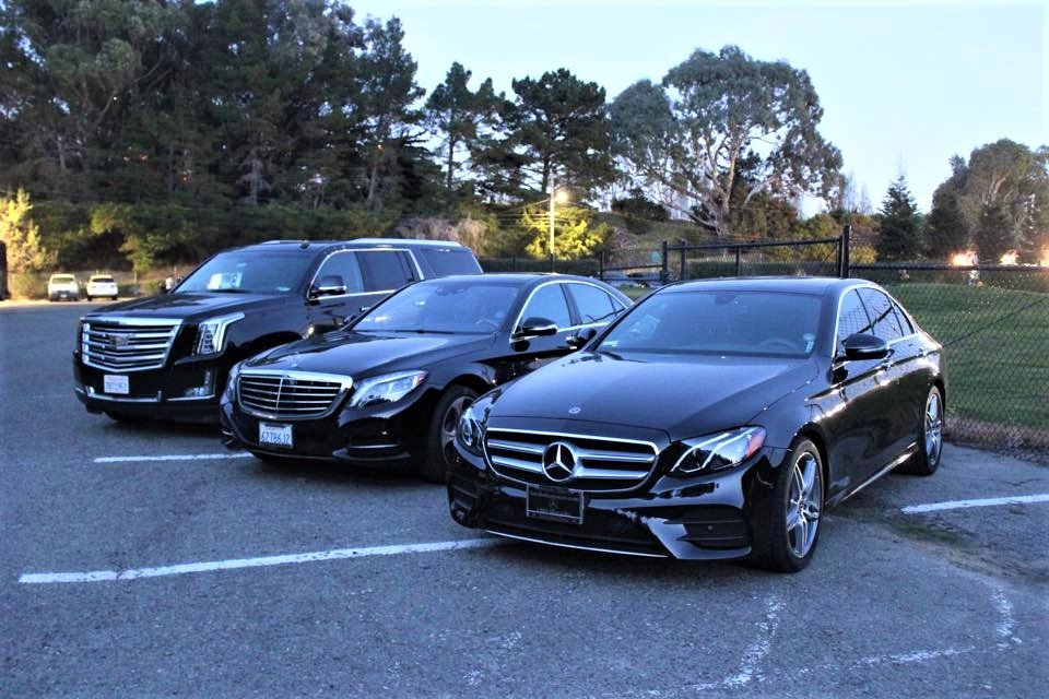 Fleet Vehicles - black car/limo service for SF Bay Area, Napa Valley CA, Sonoma wine country