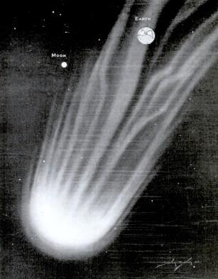 Comet Pons-Winnecke historical