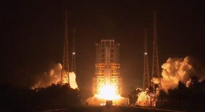 Chang'e 5 launch