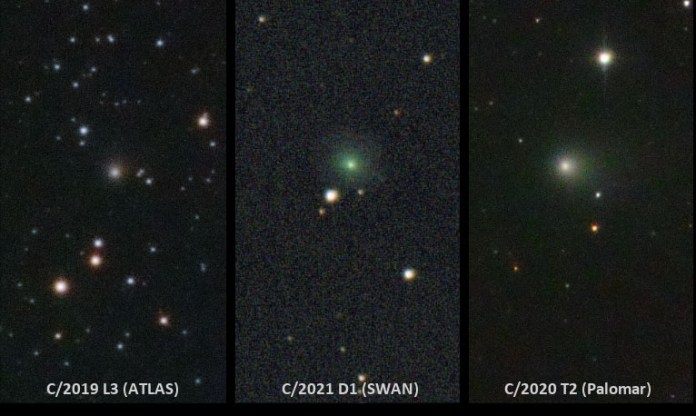 Comets in April 2021 / Jose Chambo