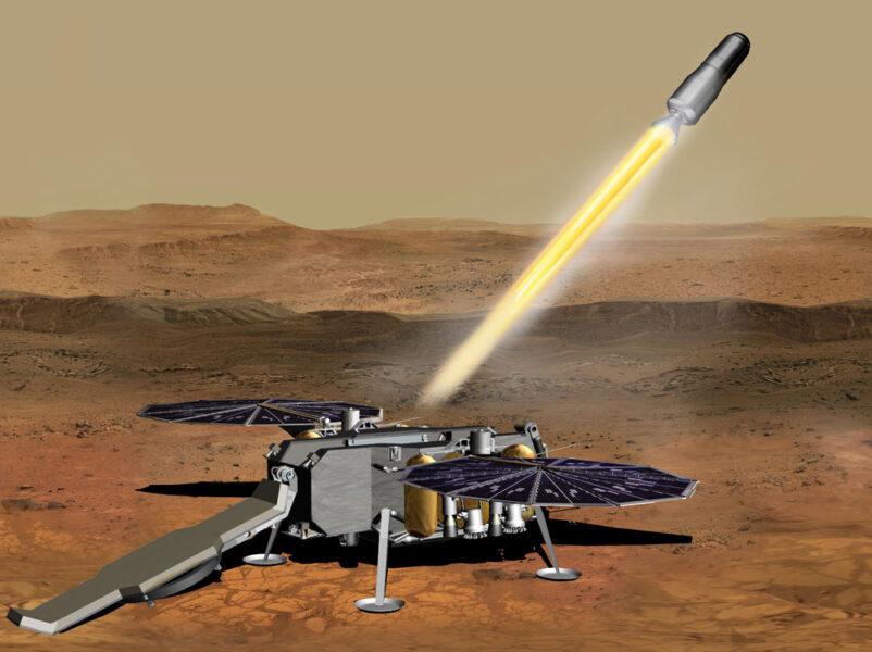 Mars Ascent Vehicle concept