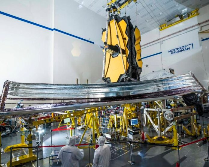 James Webb Space Telescope sunshield