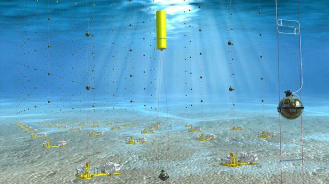 KM3NET neutrino detector
