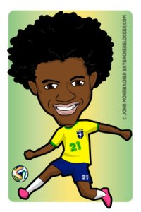 brazil willian, willian cartoon