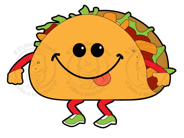 walking taco, taco cartoon, walking taco clipart