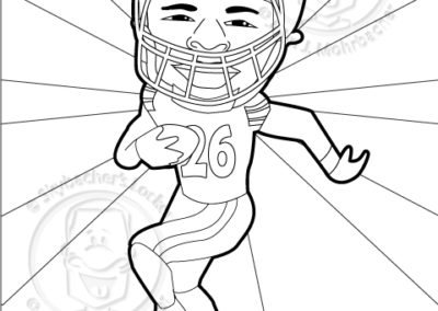 FREE Steelers Coloring Pages