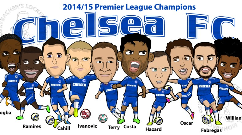 Chelsea FC Champion 14/15