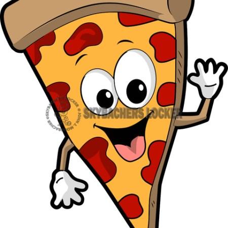Pizza Dude Cartoon - Skybacher's Locker