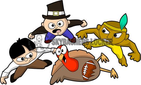 2 Thanksgiving Football & Turkey funny clipart download iron | Thanksgiving  football, Turkey football, Iron on transfer