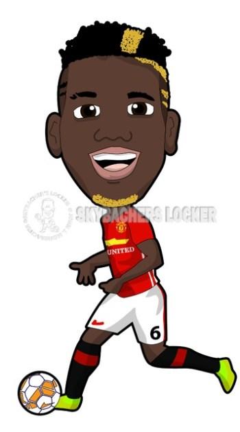 Pogba Manchester United - Skybacher's Locker
