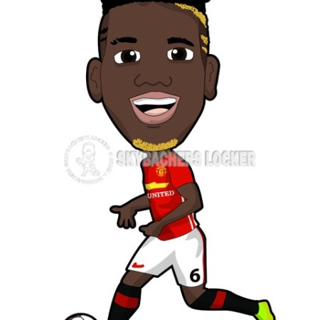 Pogba Manchester United - Skybacher's Locker