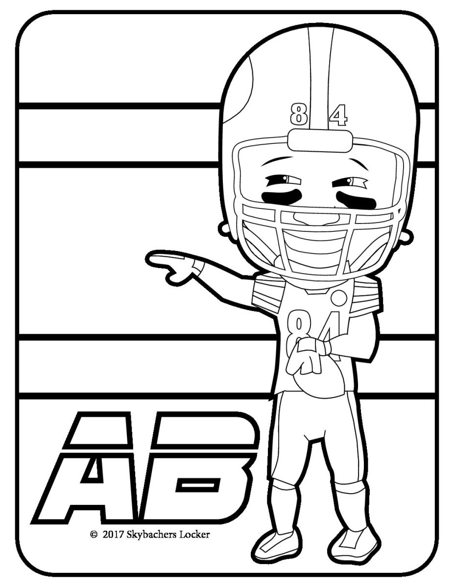 Free Steelers Coloring Pages for Playoff Run!