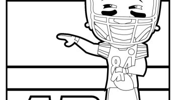 free steelers coloring pages for playoff run