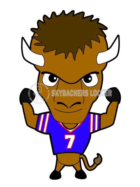 Buffalo Will Mascot - Skybacher's Locker