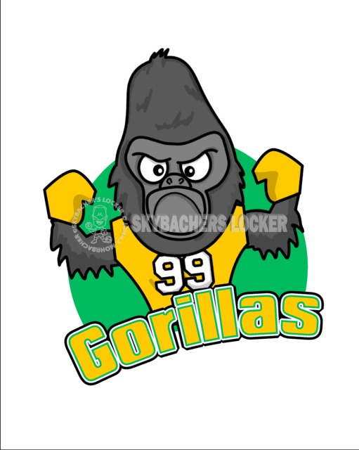 Gorilla Logo - Skybacher's Locker