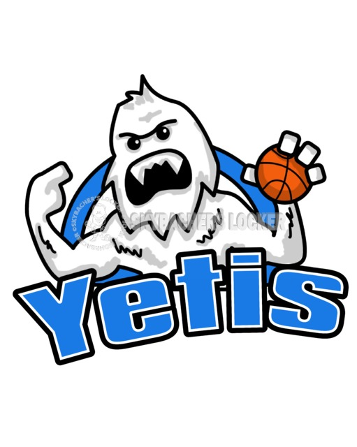 Yeti Basketball Logo - Skybacher's Locker