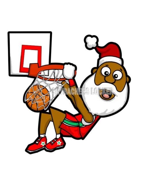 Santa Monster Dunk - Skybacher's Locker