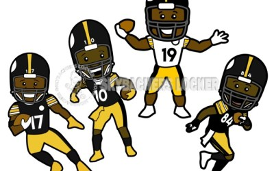 Steelers Party Favors and Magnets