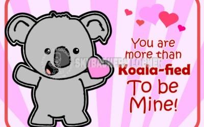 Last Minute Koala Valentine